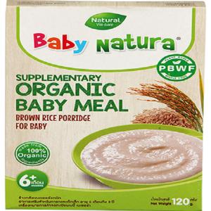 Baby Natura Brown Rice Porridge
