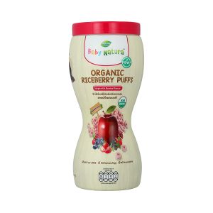 Baby Natura Organic Riceberry Puffs