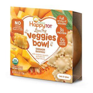 Happy Tot Love My Veggies Bowl