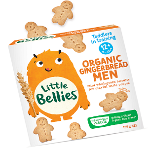 Little Bellies Organic Gingerbread Men