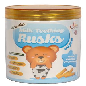 Natufoodies Milk Teething Rusks