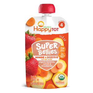 Happy Tot Super Bellies Stage 4-Banana Carrots and Strawberries-113gm