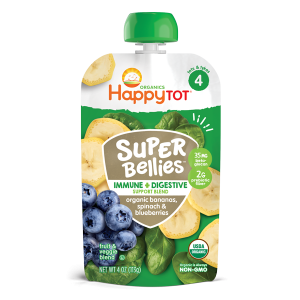 Happy Tot Super Bellies Stage 4-Banana, Spinach and Blueberries- 113gm