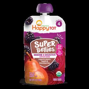 Happy Tot Super Bellies Stage 4-Pears, Beets & Blackberries -113gm