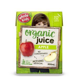 Whole Kids Organic Juice 200ml - Apple