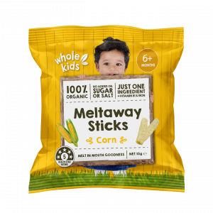 Whole Kids Meltaway Sticks - Corn