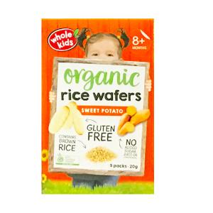 Whole Kids Organic Rice Wafers Sweet Potato