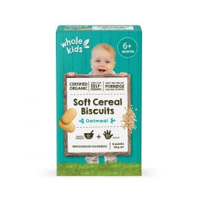 Whole Kids Organic Soft Cereal Biscuits